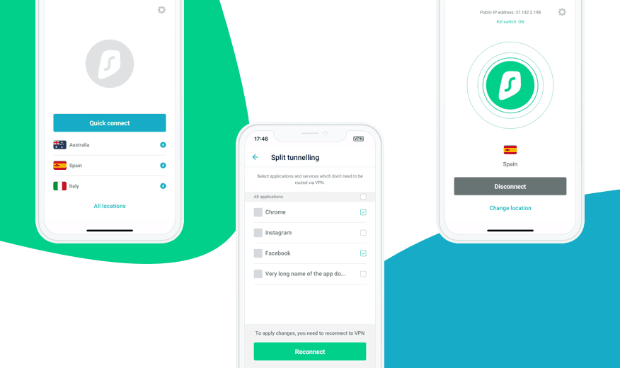 SurfShark VPN - supported devices