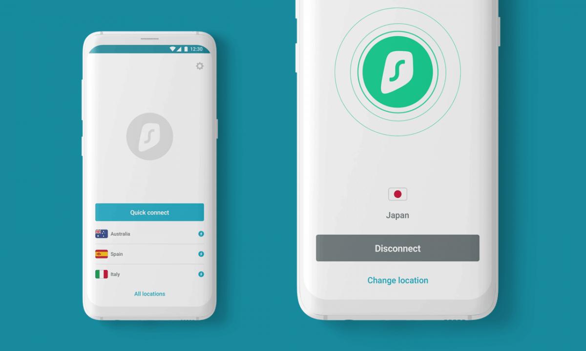 surfshark mobile VPN